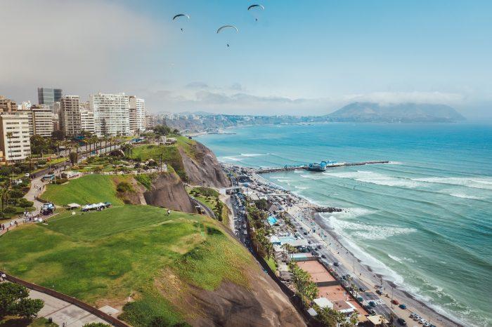 The Coast of Lima Peru for Honeymoon Vacation