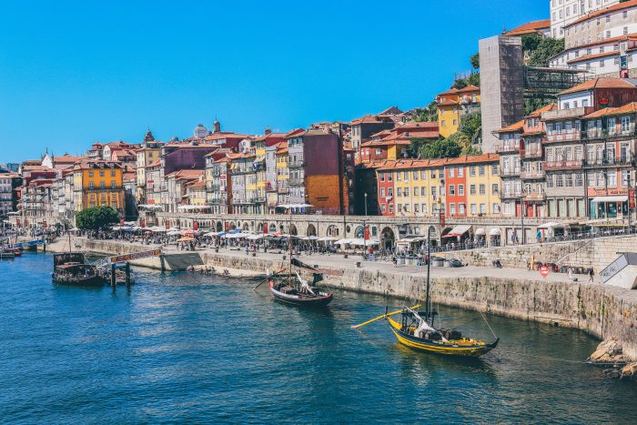 Coastal Town of Porto, Portugal