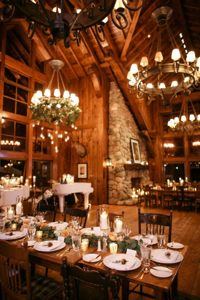 Cozy Cabin Wedding Venue in Colorado