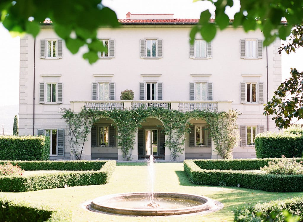 Elegant Venue in Florence Italy for Real Destination Wedding