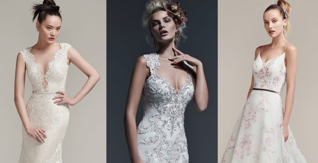 Show-stopping wedding dresses by Sottero and Midgley