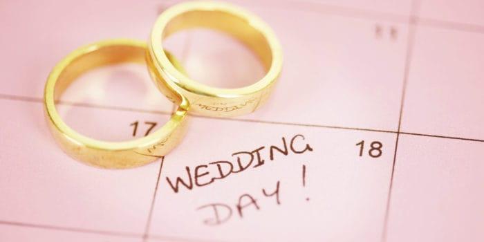 Wedding Day Count Down Calendar