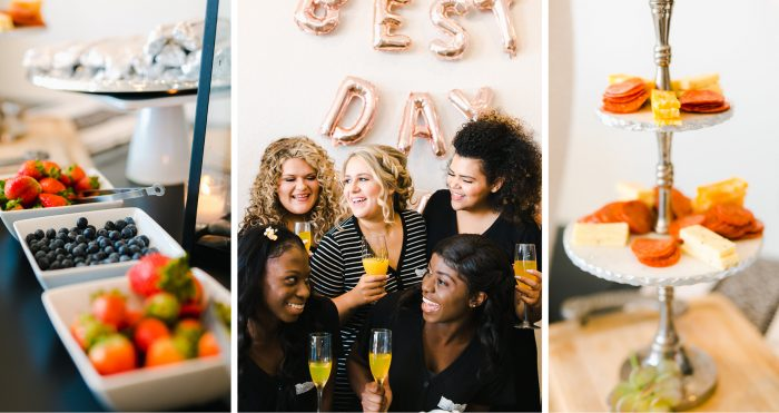 Collage of Maid of Honor Planning the Perfect Bridal Shower