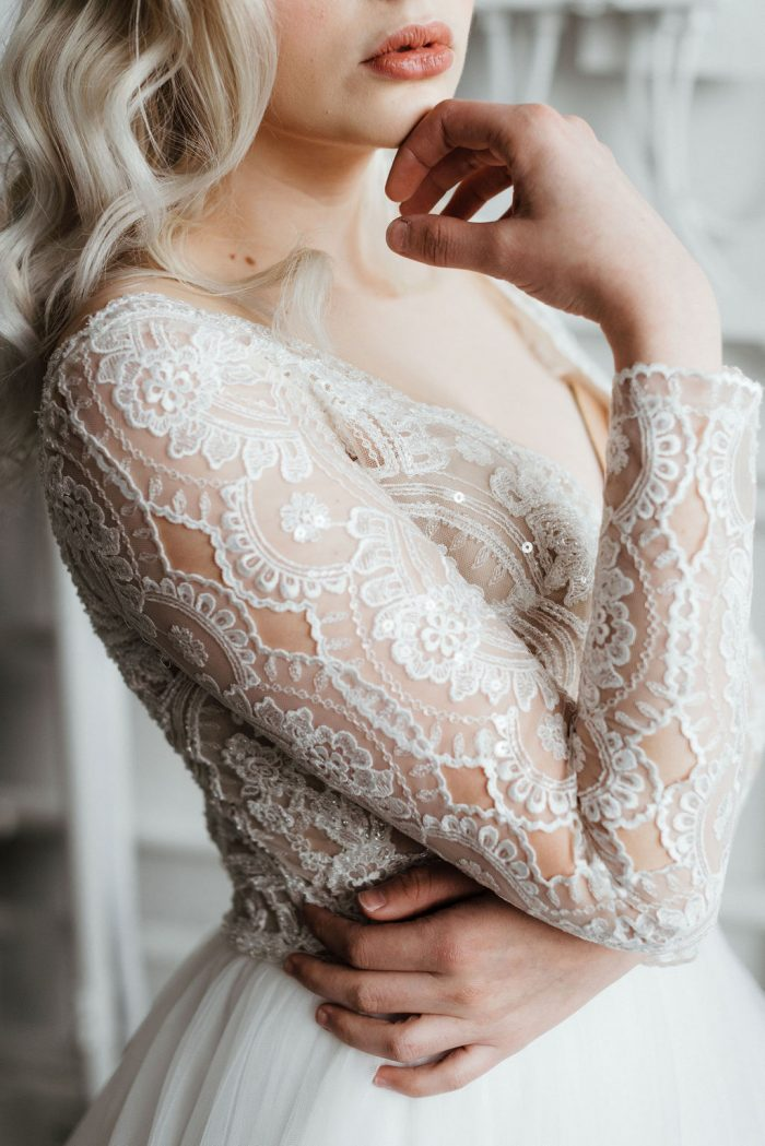 Maggie Sottero Mallory Dawn Lace Ballgown Wedding Dress