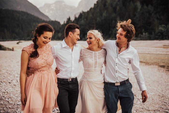 Rustic Woodland Destination Wedding feat Deirdre Wedding Dress