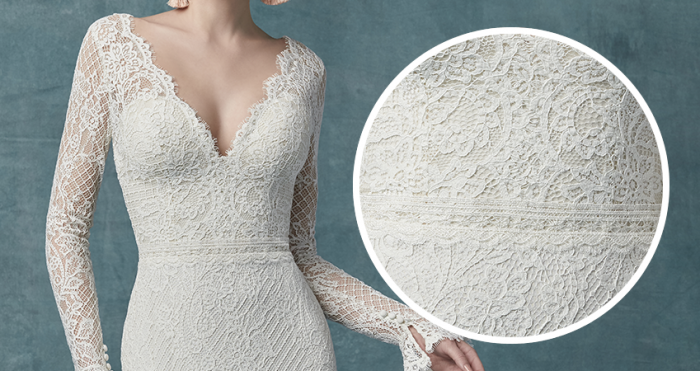 Antonia Lace Long Sleeve Wedding Dress by Maggie Sottero