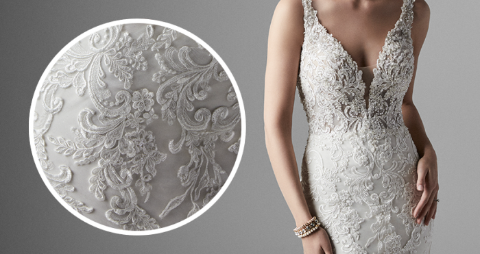 Easton Lace Wedding Dress by Sottero and Midgley