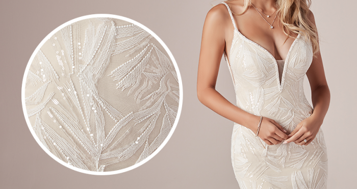 Elsie Lace Wedding Dress by Rebecca Ingram