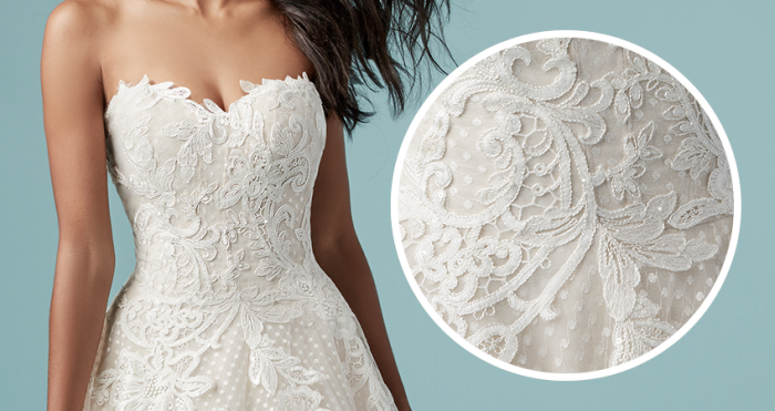 Paislee Lace Wedding Dress by Maggie Sottero