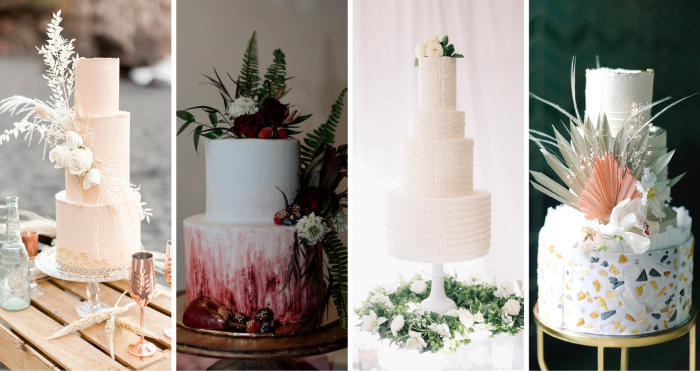 20 Wedding Cake Ideas for Different Wedding Visions and Themes