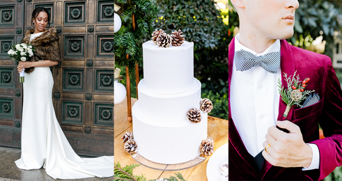 Collage-of-Winter-Wedding-Ideas-and-Details-for-a-Chic-Celebration