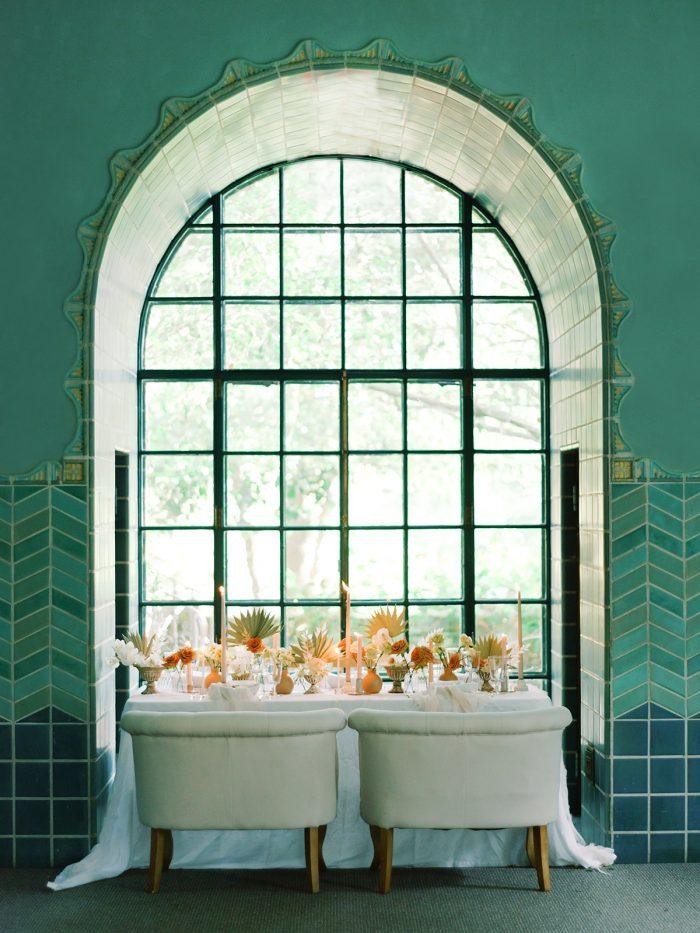 Boho Talbe Settings at Elegant Manor Styled Shoot
