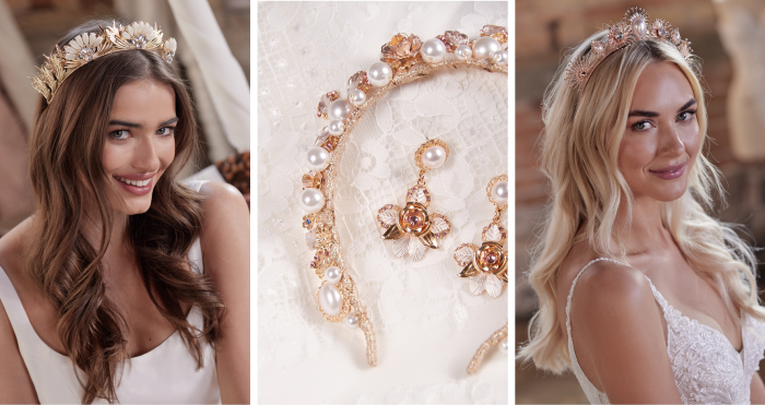 Vintage Wedding Accessories and Headpieces by Maggie Sottero