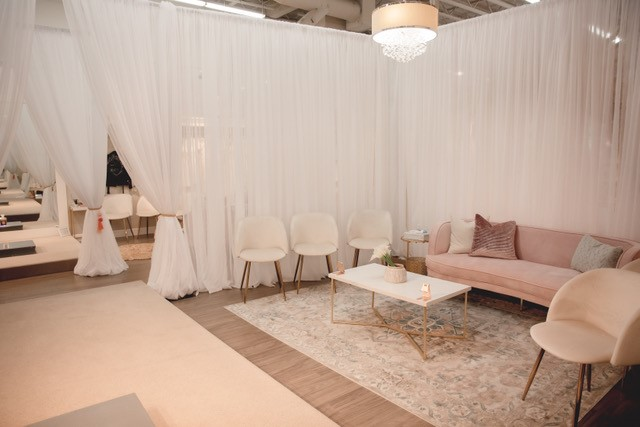 Roselily Bridal Boutique Fitting Room Area